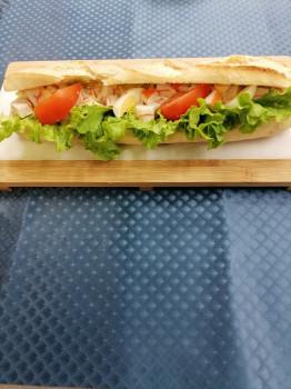 Sandwich surimi composé